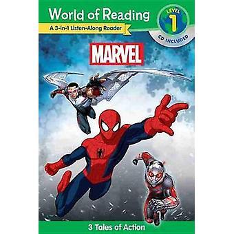 World of Reading - Marvel Marvel 3-In-1 Listen-Along Reader (World of