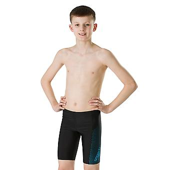 Speedo Gala Logo Panel Jammer Swimwear For Boys