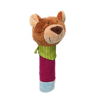 Sigikid grab figure Bear Squeaker with Squeaky PlayQ
