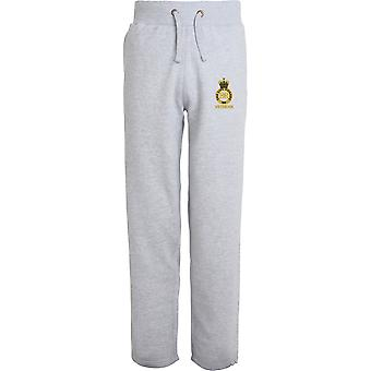 Life Guards Veteran - Licensed British Army Embroidered Open Hem Sweatpants / Jogging Bottoms