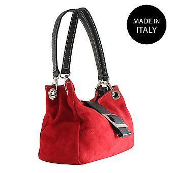 Handbag made in leather 10027