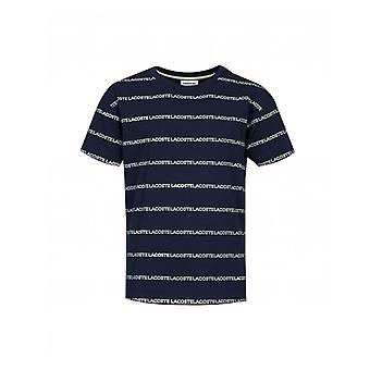 T-shirt Lacoste All Over Stripe