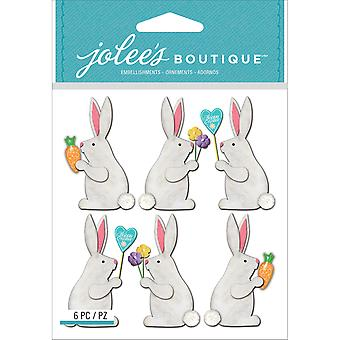 Jolee's Boutique Dimensional Stickers-Easter Bunnies E5021768