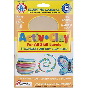 Activ Clay Air Dry 1 Pound White 160A