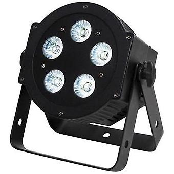 LED PAR stage spotlight ADJ 5P HEX No. of LEDs: 5 x 10 W
