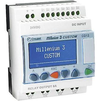 Crouzet Millenium 3, CD12 R 230VAC SMART Expandable Logic Controller, 88974043