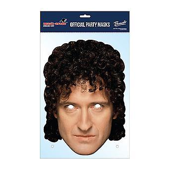 Brian May Queen Offizielle Karte Partei Gesichtsmaske