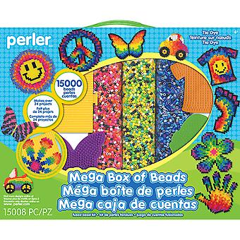 Perler Mega Fused Bead Kit-Tie Dye 80-54180