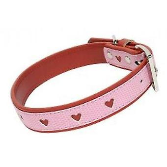 Doggy Things Punched Collar Rosa (Dogs , Walking Accessories , Collars)