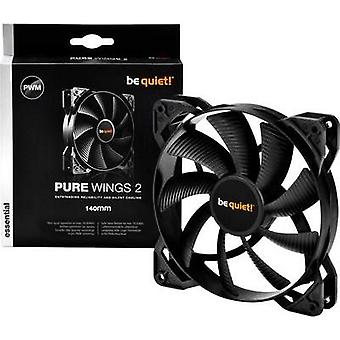 PC fan BeQuiet Pure Wings 2 140 mm PWM Black (W x H x D) 140 x 1