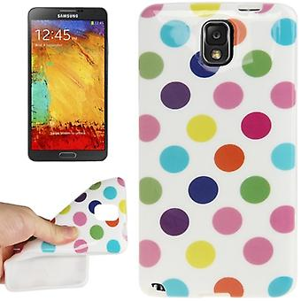 Protective case TPU case for mobile Samsung Galaxy touch 3 N9000 white