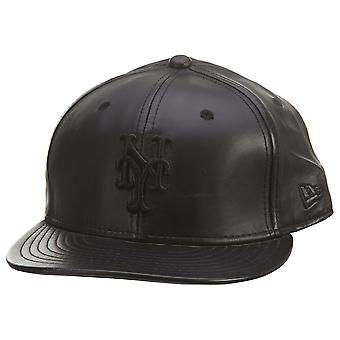 New Era 59fifty Nyyankee Fitted Leather Mens Style : Aaa445