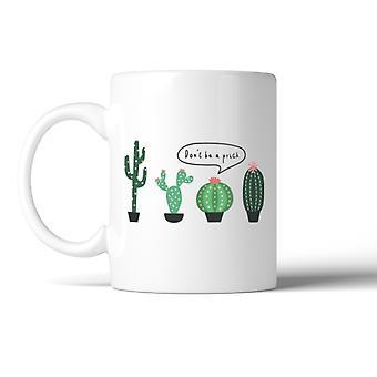 Cactus wees niet een prik mok koffie mok Lady verjaardag kerstcadeau