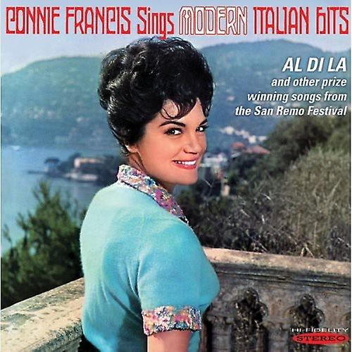 Connie Francis - Sings Modern Italian Hits [CD] USA import
