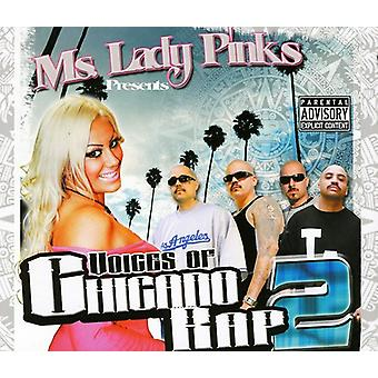 Ms. Lady Pinks Presents - Voices of Chicano Rap 2 [CD] USA import