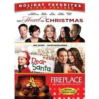 Herzen von Weihnachten/Dear Santa/Kamin [DVD] USA import