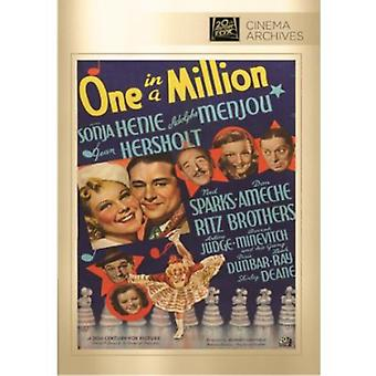 One in a Million [DVD] USA import