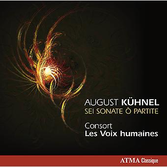 Kuhnel / Les Voix Humaines - Sei Sonate O Partite [CD] USA import