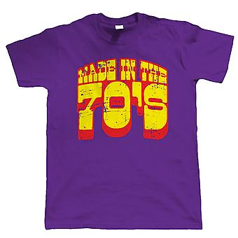 Made In The 70s, Funny 40th Birthday T Shirt