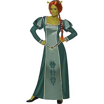 Original Fionakostüm Shrek Fiona costume with wig OGRE dress