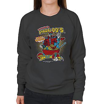 Psyko knusere Shadaloos korn M Bison Street Fighter kvinders Sweatshirt