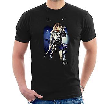 Jon Bon Jovi Live Herren T-Shirt durchführen