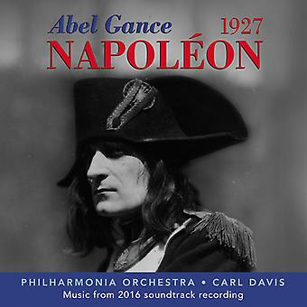 Davis / Philharmonia Orchestra - Abel Gance: Napoleon (1927) [CD] USA importerer