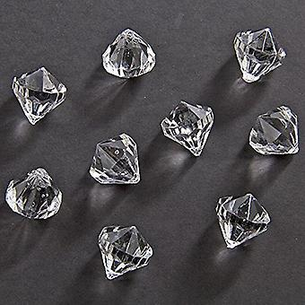 Table diamond table decorations 12 x 12 mm Diamond confetti