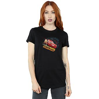Disney Women's Cars Lightning McQueen Boyfriend Fit T-Shirt