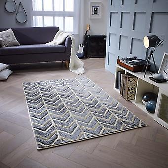 Portland 5603 E Grey  Rectangle Rugs Modern Rugs