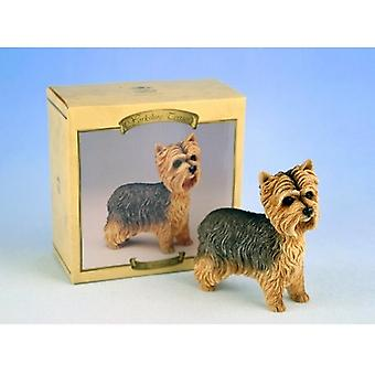 Yorkshire Terrier Dog Figurine