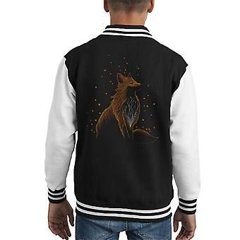 Winter Fox Kid's Varsity Jacket