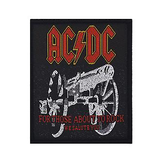 AC/DC For Those About To Rock Woven Patch