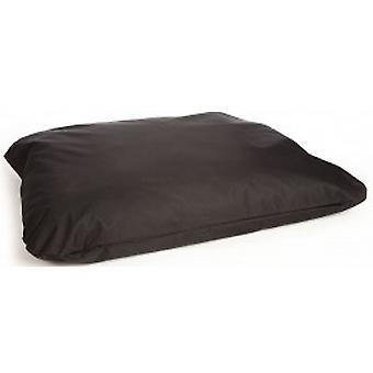 Country Dog Heavy Duty Deep Filled Waterproof Mattress Cover-black-large