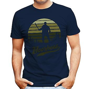 Friday The 13th Jason Voorhees Sunset Men's T-Shirt