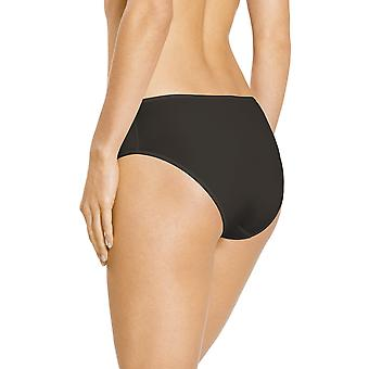 Mey 79844-928 Women's Joan Diamond Black Solid Colour Knickers Panty Brief