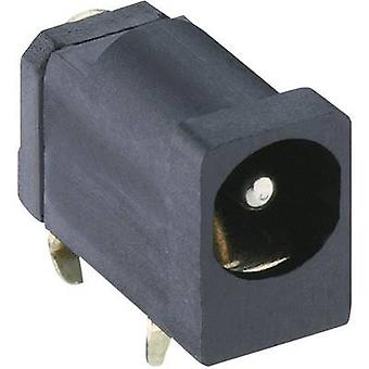Low power connector Socket, horizontal mount 4.5 mm 1.3 mm