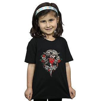 Guns N Roses Girls Bleeding Heart T-Shirt