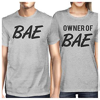 Bae And Owner Of Bae Funny Saying Matching Couples Gifts Shirts