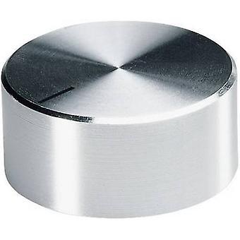 OKW A1418461 Control knob Aluminium (Ø x H) 17.8 mm x 12 mm 1 pc(s)