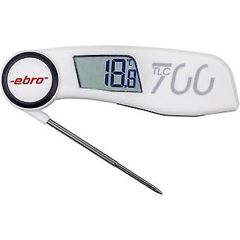 Probe thermometer (HACCP) ebro TLC 700 ATT.FX.METERING_RANGE_TEMPERATURE -30 up to +220 °C Sensor type NTC Complies with