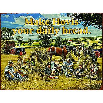 Make Hovis Your Daily Bread Large Metal Sign 400Mm X 300Mm