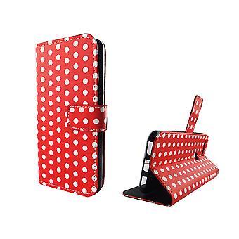 Telefono cellulare custodia per cellulare Google pixel pois rosso