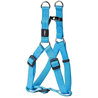 ROGZ FOR DOGS SNAKE STEP-IN TUIG TURQUOISE 16 MMX42-61 CM