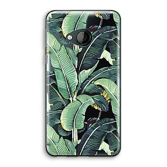 HTC U Play Transparent Case - Banana leaves