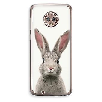 Motorola Moto G6 Transparent Case (Soft) - Daisy