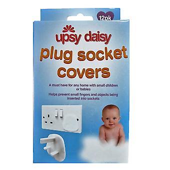 Upsy Daisy Plug Socket Covers - 12 Pack