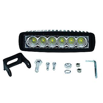 HELLA 357203001 ValueFit Mini Light Bar (6 LED, översvämning Beam)