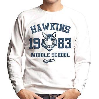 Hawkins Middle School Stranger Things Men's Sweatshirt