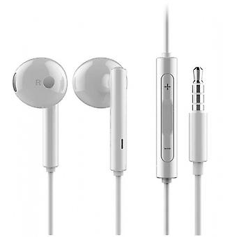 Huawei blister Am115 headset earphones with remote control, microphone white for Smartphone